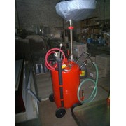 Сборщик масла пневматический 80л с воронкой ( Комплект щупов 6шт. ) фото