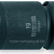 70041 ТМ Berner Головки ударные 6-ти гранные 1/2, 13 mm фото