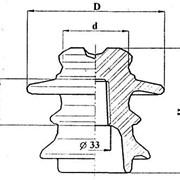Изолятор штыревой высоковольтный фарфоровый ШФ10-II фото