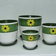 Керамические горшки для цветов фото