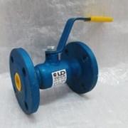 Кран стальной шаровой LD Ду 32 Ру 40 для газа резьба, с рукояткой фото