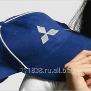 Бейсболка синяя Mitsubishi фото