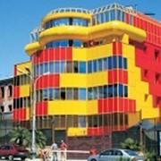СИАЛ КМ и СИАЛ Г-КМ облицовка фасадов зданий, внутренняя отделка помещений различного назначения композитными панелями. фото