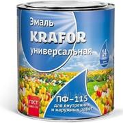 Эмаль Пф-115 белая Krafor, 1,9 кг, арт. 5337 фото