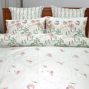 Комплект постельного белья евро-размера. фото