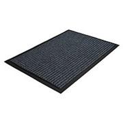 Коврик Floor 0,9*15м влаговпитывающий ребристый, коричневый, Standart фото