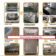 Производство печенья Полностью автоматизированная Бисквит технологическая линия фото