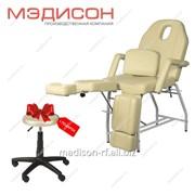 Педикюрно-косметологическое кресло МД-11 фото