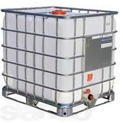 Кубовая емкость 1000 л. Б/У ( изоционат) фото