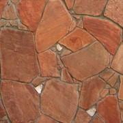 Песчаник красный фото