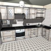 3D-дизайн проект кухни фото