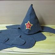 Набор для сауны модельная шапка+коврик+рукавица фото