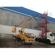 Автовышка Dong Feng высота подъема 14 метров 2013 года