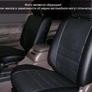 Чехлы Kia Carens II Recaro 06 диван и спинка дел.1/3, 5п/г, 1п/л, черный аригон Классика ЭЛиС фото