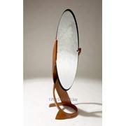 Напольное зеркало, массив берёзы фото