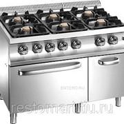 Плита газовая Apach Chef Line GLRRG129FG фото