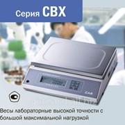 Лабораторные весы высокой точности, серия CBX фото