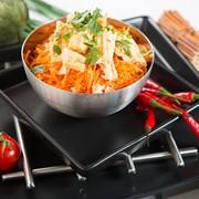 Спаржа с морковью по-корейски фото