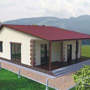 Типовые проекты жилых каркасных домов фото