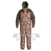 Костюм демисезонный Таймень, куртка, брюки, тк. Таслан, цвет КМФ охра фото