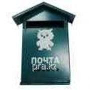 Ящик почтовый металлический без замка Домик фото