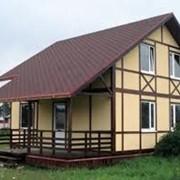 Строительство загородных домов фото