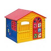 """Детский пластиковый домик """"Белка-Стрелка"""" Marian Plast 362 фото"""