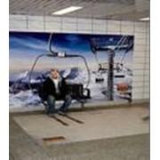 Монтаж рекламных щитов, установка рекламных щитов, демонтаж рекламных щитов фото