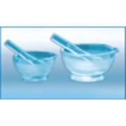 Ступка стеклянная с пестом 60мл (h-40мм, d-60мм), ХС 200010 фото