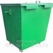 Контейнер для бытового мусора фото
