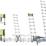 Лестница телескопическая универсальная 10 ступеней 3.2м 5130101 фото