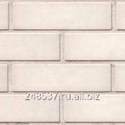 Кирпич облицовочный белый одинарный гладкий М-150 РАУФ фото
