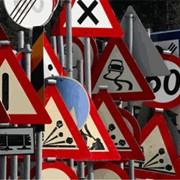 Производство дорожных знаков фото