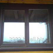 Окно деревянное из сосны фото