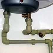 Бойлеры, счетчики воды-установка фото