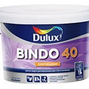 Водостойкая полуглянцевая краска Dulux bindo 40 10L фото