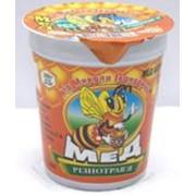 Мёд разнотравье 300 грамм, в пластиковом стаканчике 200 мл., запаянный под фольгу фото