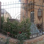 Изготовление ворот, заборов, навесов фото