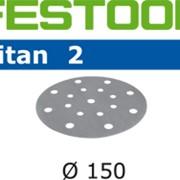 Шлифовальные круги FESTOOL TITAN 2 STF D150/16 P400 фото