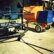 Вибропресс передвижной на 6 блоков в комплекте с растворосмесителем РН-300 фото