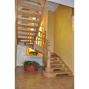 Лестница дизайн D071