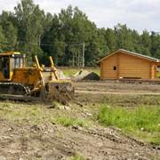 Подготовка участка для строительства. фото