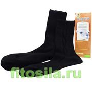 Носки из шерсти Альпака, (чёрные) размер 27 фото