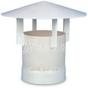 Дымоход для защиты от дождя ПВХ фото