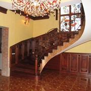 Лестницы деревянные, металлические, на бетоне, винтовые. фото
