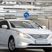 Аренда авто в Одессе, Hyundai Sonata белый фото