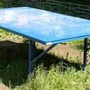 Теннисный стол (металлический) фото
