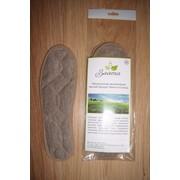 Стельки льняные, наполнитель - луговая трава фото