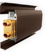 Монтаж жидкостной плинтусной системы отопления Mr. Tektum фото