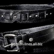 Оригинальный мужской кожаный ремень Affliction Oxford фото